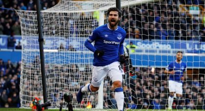 Everton: Supporters have gushed over a club post on Andre Gomes