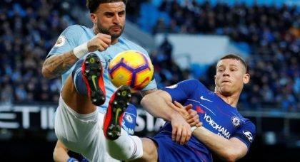 City fans slam Walker v Chelsea