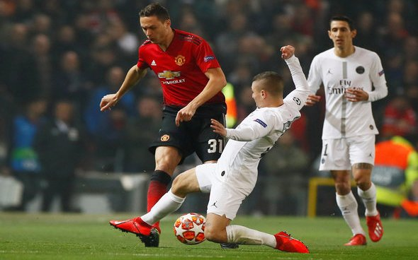 Image for Manchester United: Journalist lauds 'best Manchester United player of 2020' Nemanja Matic