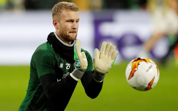 Image for Celtic: Fans voice concerns over Scott Bain after narrow win over Motherwell