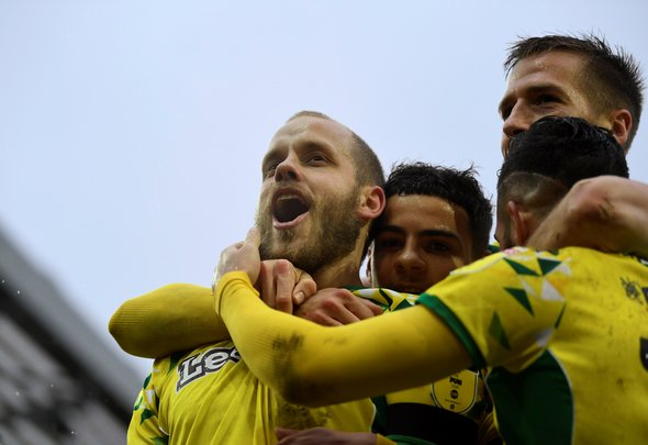 Many Leeds fans drool over Pukki
