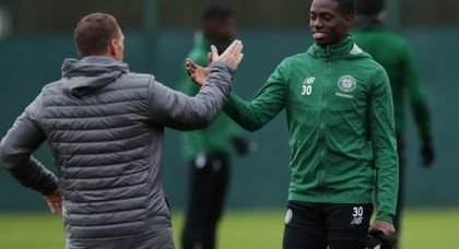 Weah confirms he is to talk about his Celtic future
