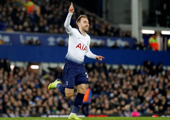 Tottenham ready to give Eriksen huge pay rise