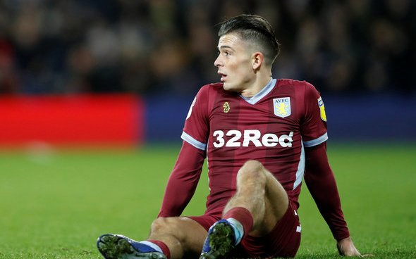 Image for Winks drools over Grealish