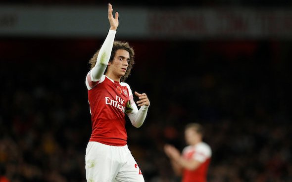 Image for Arsenal: Adrian Clarke says that Arsenal may 'have to' sell Matteo Guendouzi this summer