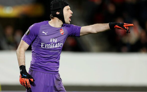 Image for Arsenal: Petr Cech supposedly celebrated Chelsea goals in Emirates directors' box