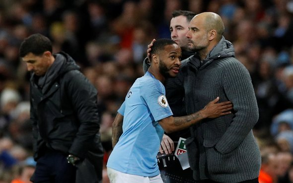 Image for Exclusive: Ex-Man City star urges Guardiola to put his arm around Sterling's shoulder