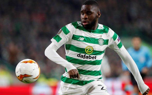 Image for Celtic: Fans slam 'horrendous' Old Firm performance from Odsonne Edouard
