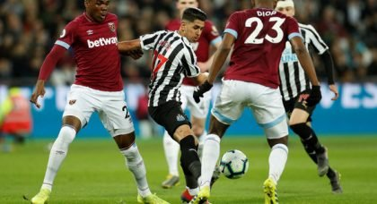 Perez among big names in chances created for Newcastle
