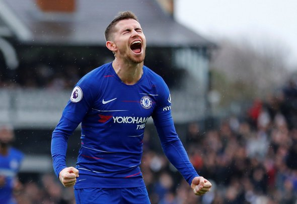 Chelsea fans react to Jorginho display v Frankfurt