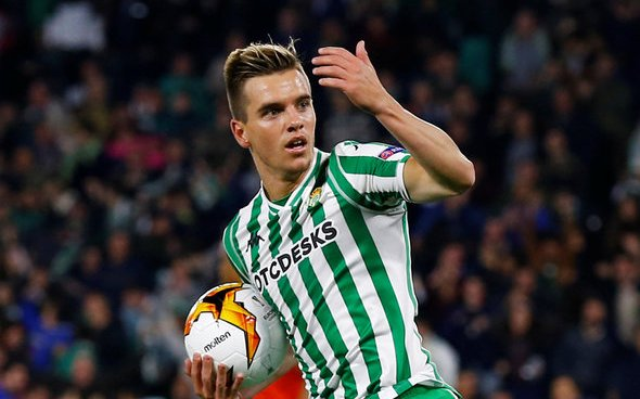 Image for Tottenham meet with Real Betis chief over Lo Celso