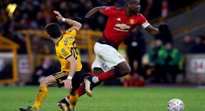 Man United fans fume at Pogba display v Wolves