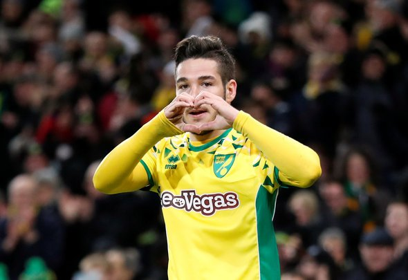 Norwich swooped Buendia from under Leeds noses