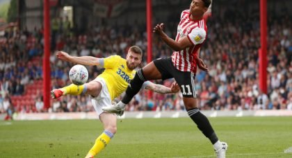 Dallas praised by Leeds fans for Brentford performance