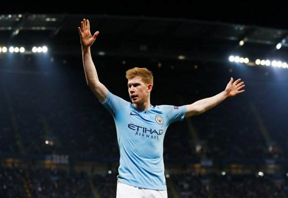 Shearer in awe of KDB