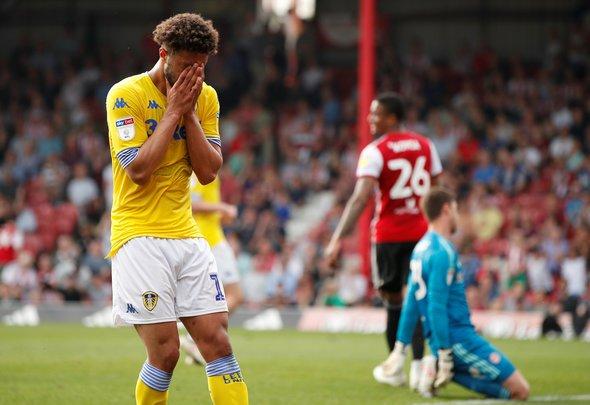 Leeds fans go ballistic over Roberts v Brentford