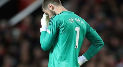 De Gea set to snub Man United contract offer