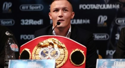 Josh Warrington weighed in on Villa v Leeds flashpoint