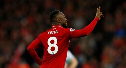 Liverpool: Some fans gush over Naby Keita performance against RB Salzburg
