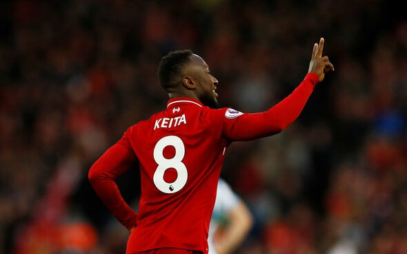 Image for Liverpool: Stephen Warnock discusses Naby Keita's injury problems