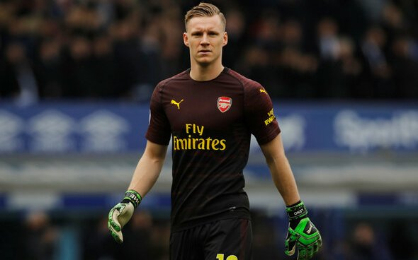Image for Arsenal: Charlie Eccleshare claims Bernd Leno may lose spot to Aaron Ramsdale