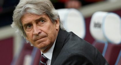 West Ham surely at risk of disappointing Pellegrini