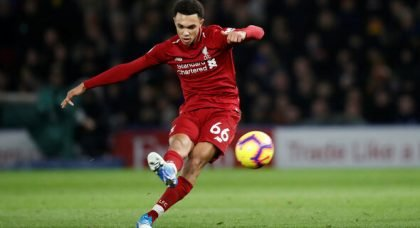Liverpool fans react to TAA v Barca