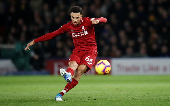 Image for Liverpool: Gary Neville makes big claim about Trent Alexander-Arnold's England chances