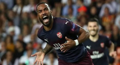 Arsenal's Lacazette interesting Barcelona
