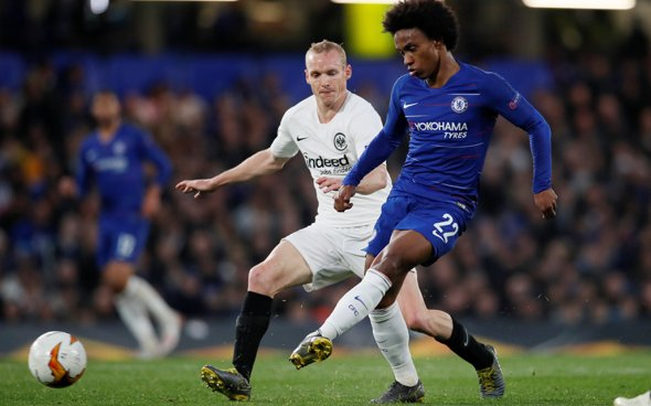 Image for Arsenal: Charles Watts expects the signing of Willian to be completed shortly
