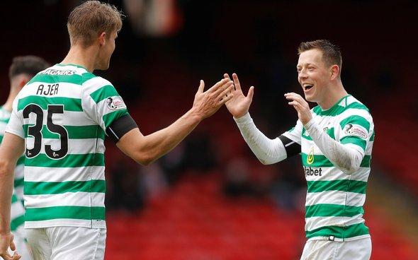 Image for Celtic: Some Hoops fans hail Callum McGregor