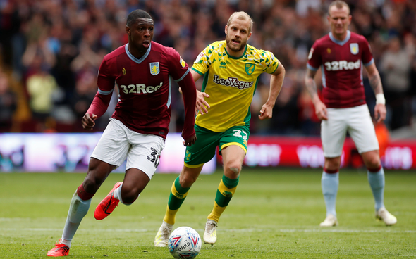 Image for Aston Villa: Gregg Evans claims Kortney Hause is 'too good to be sitting on the bench'