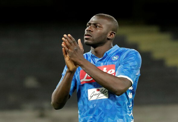Napoli reject £96.4m Man United bid for Koulibaly