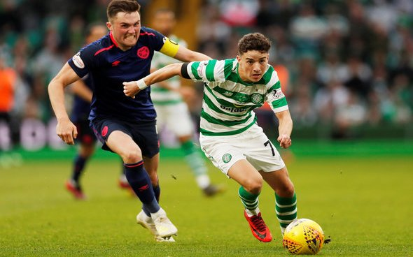 Image for Celtic: Some fans discuss 'top notch' duo Mohamed Elyounoussi and Mikey Johnstone
