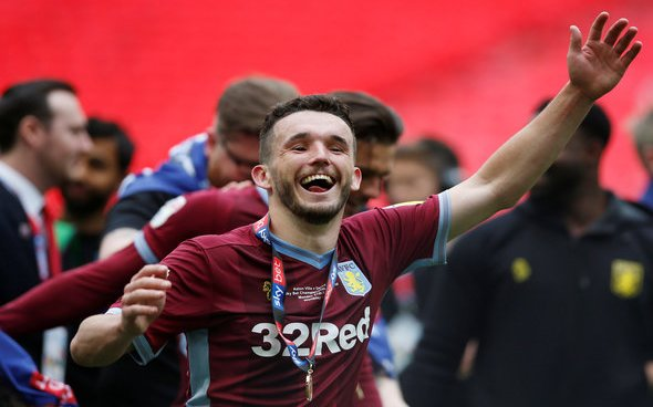 Image for Aston Villa: Matt Maher claims John McGinn has become the club's new 'heartbeat'