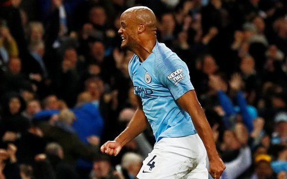 Image for Man City to hold talks with Vincent Kompany