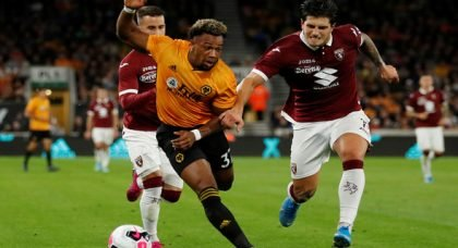 Wolves fans hail Traore for display v Torino