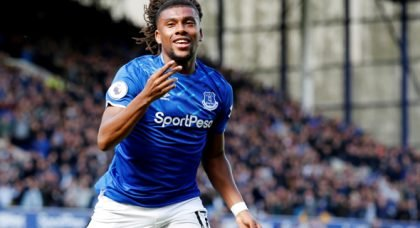 Everton: Supporters rave over Alex Iwobi