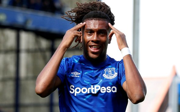 Image for Everton: Fans slate Alex Iwobi following defeat to Leicester City