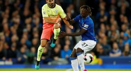 Everton: Fans react to Moise Kean update