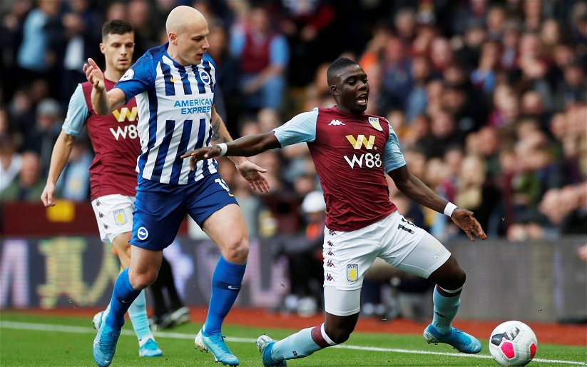 Image for Aston Villa: These fans slate Marvelous Nakamba's display against Norwich