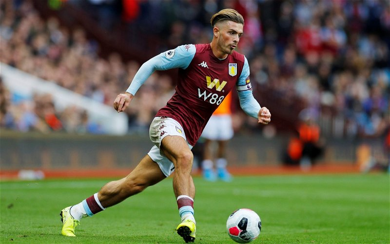 Image for Aston Villa: These fans are over the moon with Jack Grealish training photo