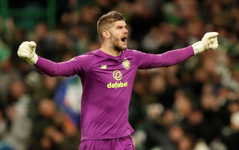 Celtic: Fraser Forster misses out on England recall