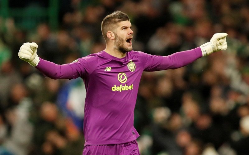 Image for Celtic: Fraser Forster's valuation set to increase following impressive performances