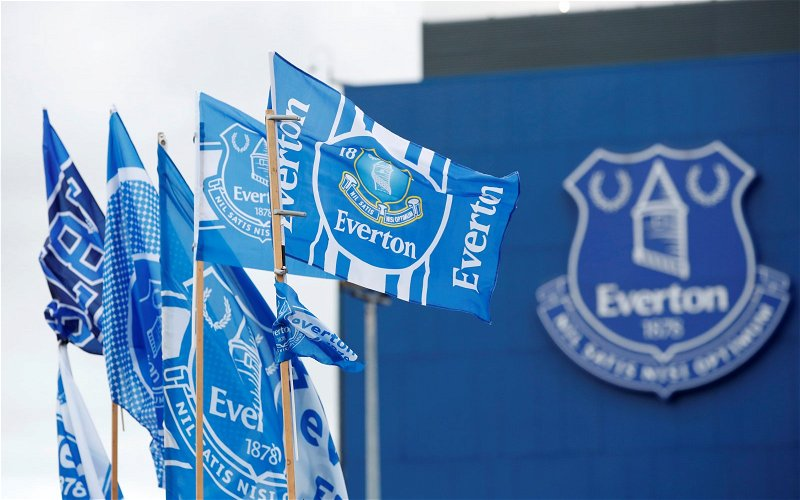 Image for Everton fans react as Rafael Garcia signs first professional contract