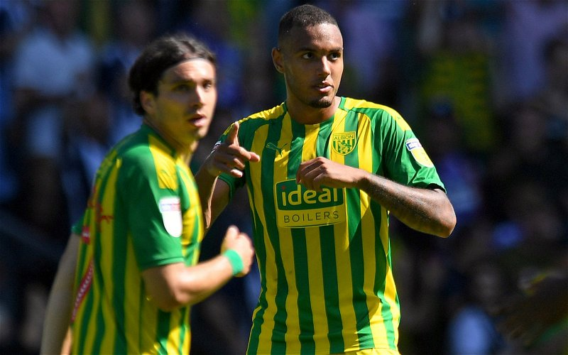 Image for West Bromwich Albion: Fans criticise Kenneth Zohore after a poor performance