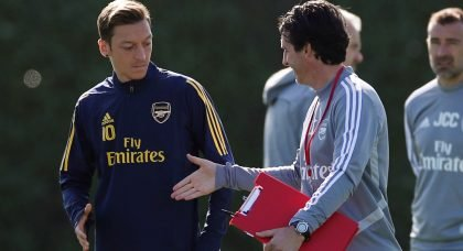 Arsenal: Fans confused by Unai Emery's latest comments regarding Mesut Ozil