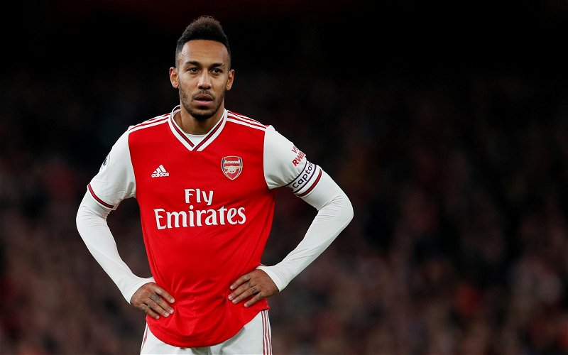 Image for Arsenal: Charles Watts discusses Pierre-Emerick Aubameyang claims
