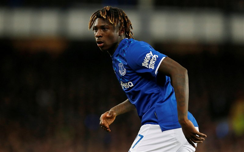 Image for Exclusive: Michael Ball concedes Moise Kean is desperate to leave Everton