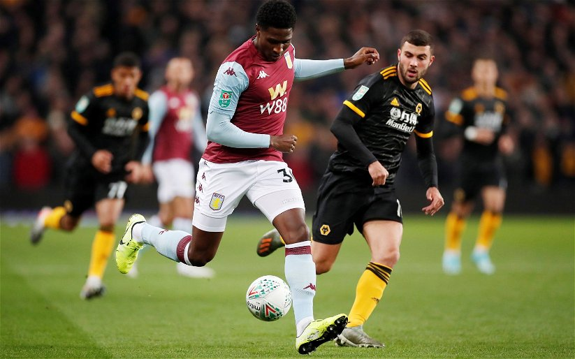 Image for Aston Villa: Gregg Evans claims '95% chance' Kortney Hause offered new deal